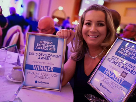 Success for Vera McCullough at key Northern Ireland Business Awards