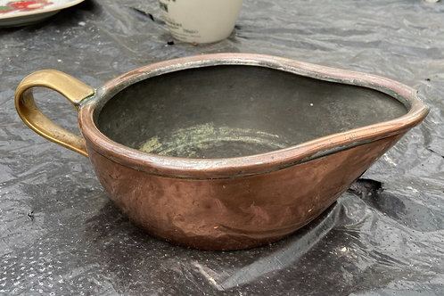 56. Antique Copper and Brass Jug