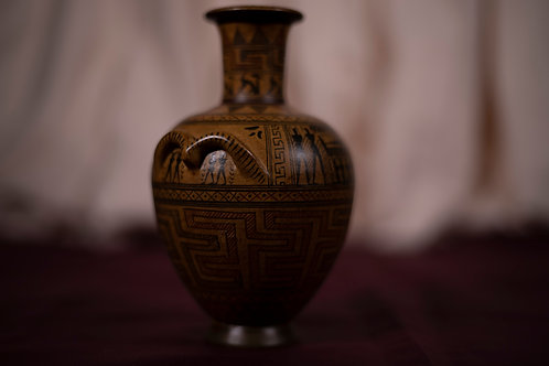 32. Handmade Greek Vase