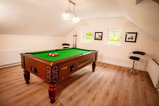 Slemish Farm Cottage Pool Room