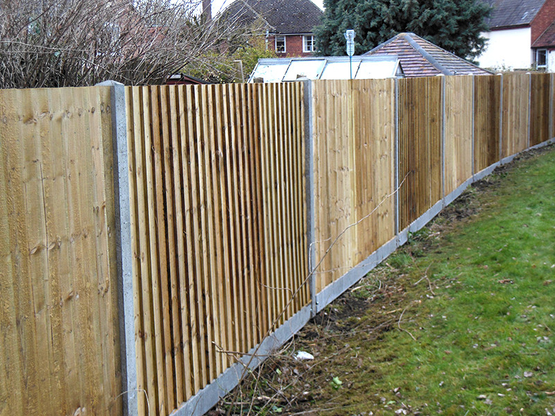 close board fencing installed in bracknell
