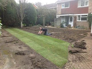 Bennetts Tree Care turfing in sandhurst