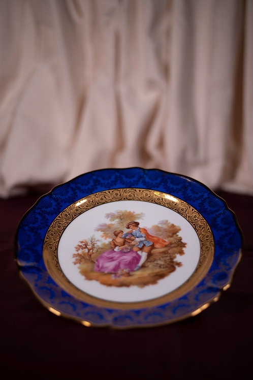 11. Limoges Plate