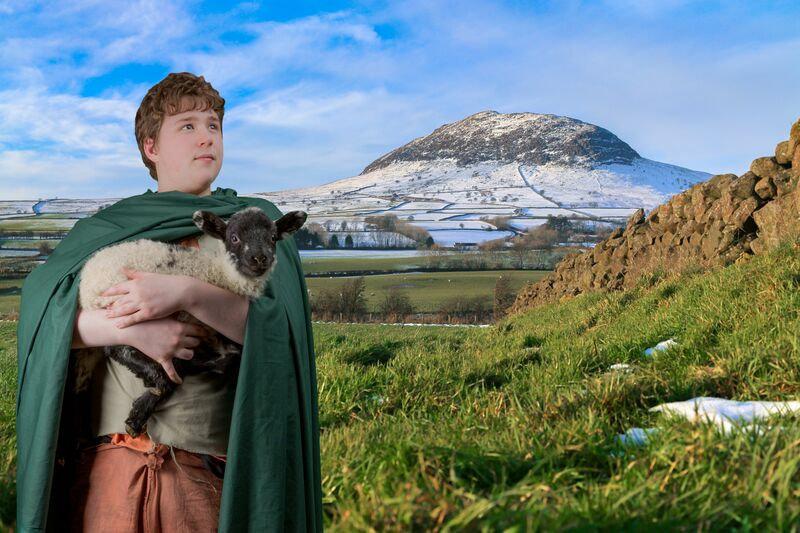 St Patrick on Mount Slemish