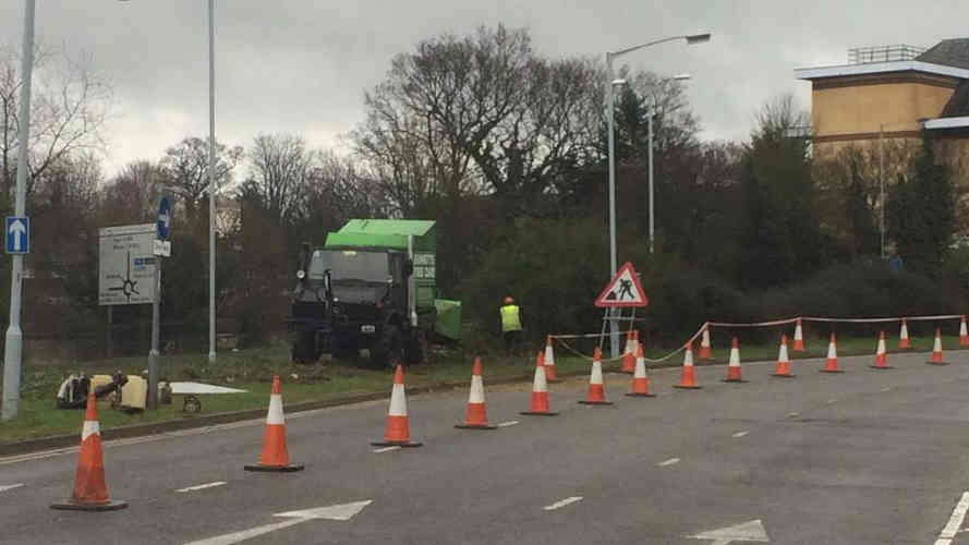 Bennetts Tree Care road works