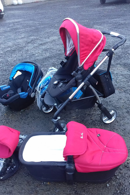 431. Silver Cross Childs Buggy / Pram Conversion with Carry Cot and Car Seat