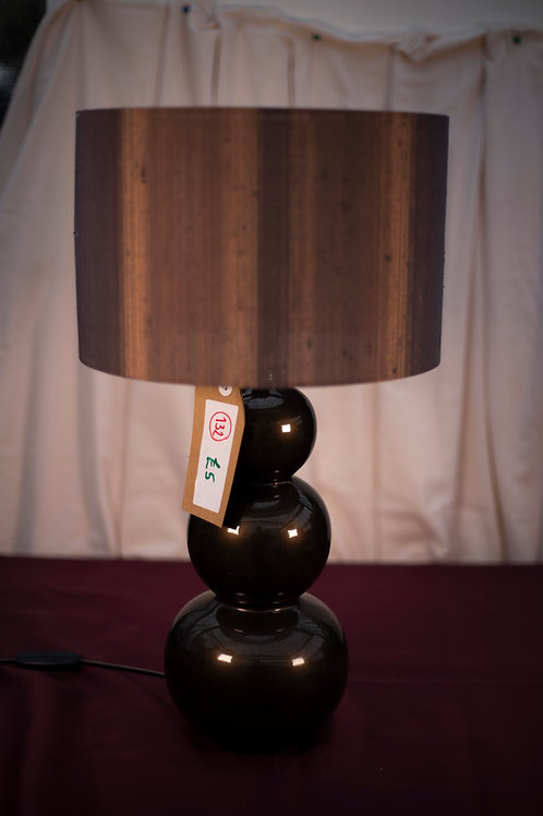 132.  Table Lamp with Shade