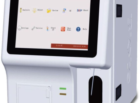 Prestige Diagnostics Launch the Hematron 3 Plus Hematology Analyser