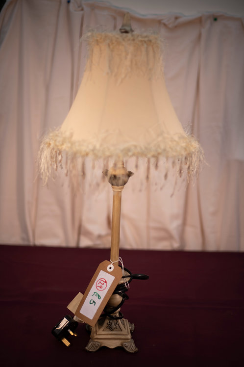 129. Table Lamp and Shade