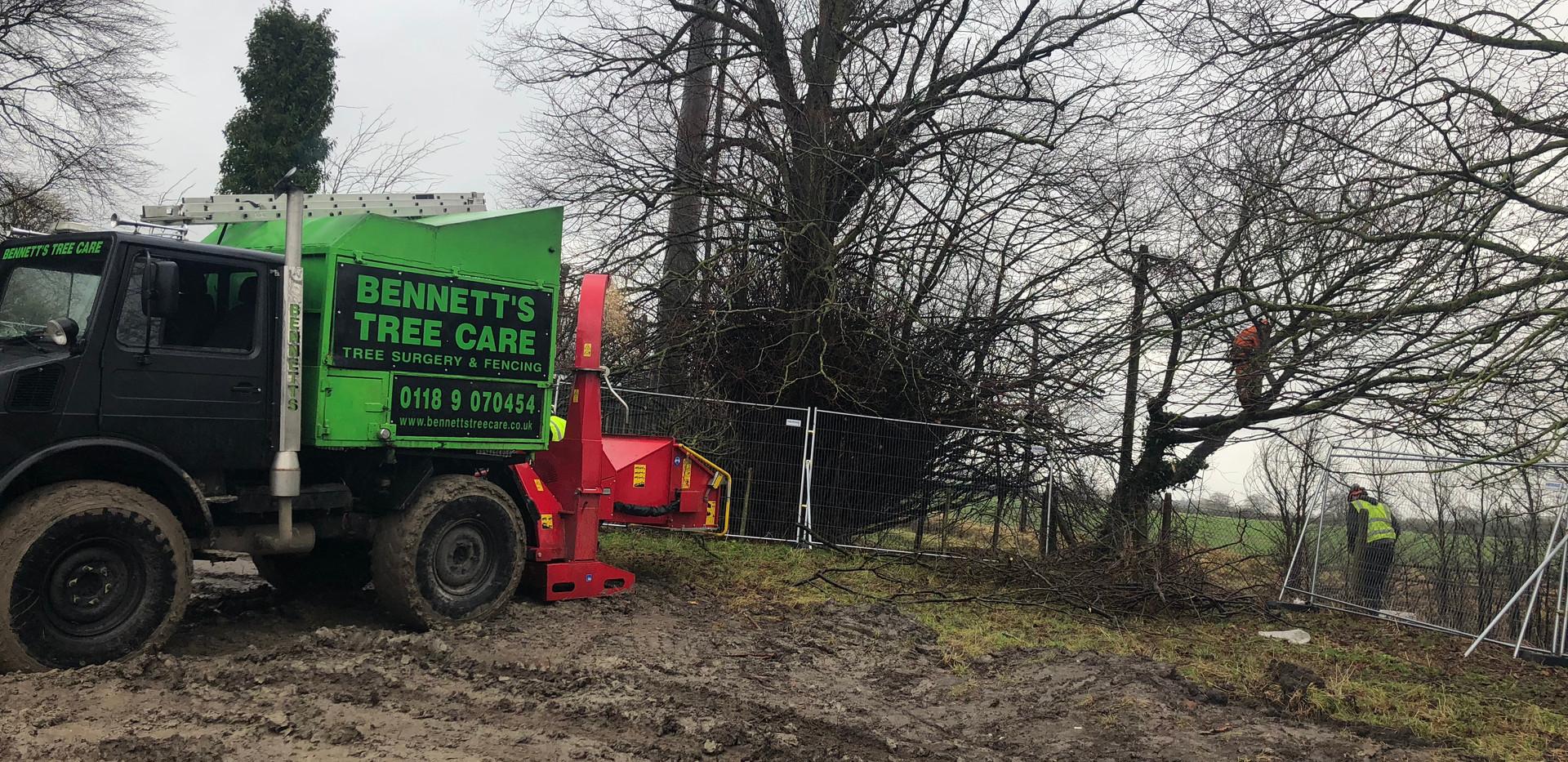 Bennetts Tree Care  unimog