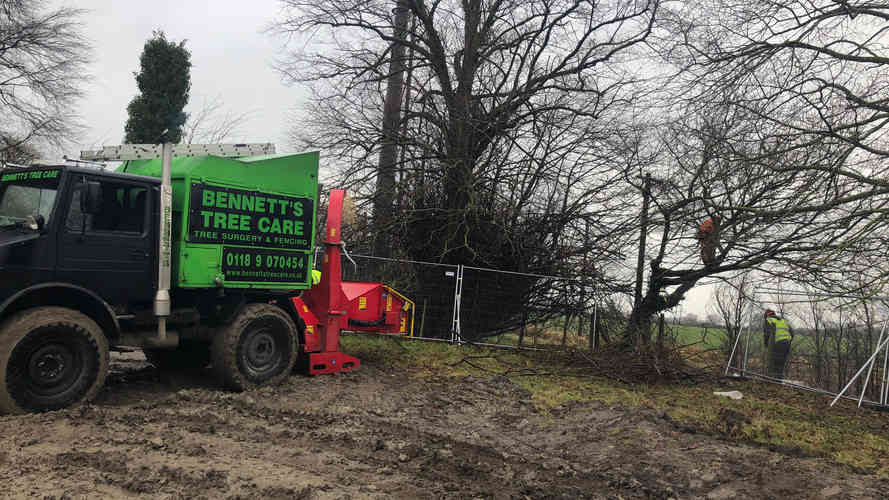 Bennetts Tree Care  unimog