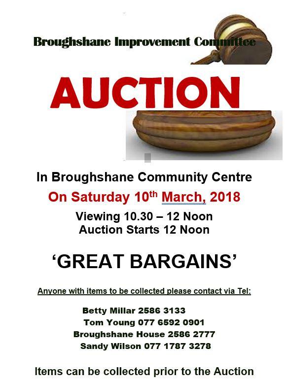 Broughshane Auction