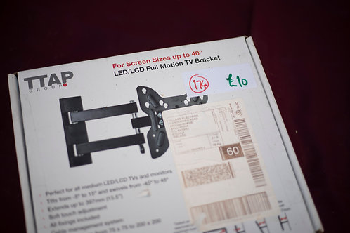 """174. Inclinable TV Wall Bracket  (Up to - 40"""" Screen)"""