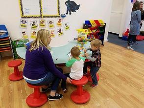Tiny Thinkers Academy Activity Area