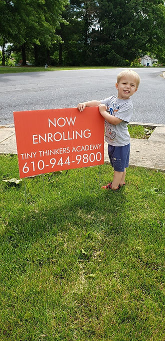 Tiny Thinkers Academy Now Enrolling