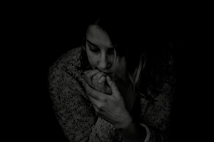 greyscale-photography-of-woman-wearing-l