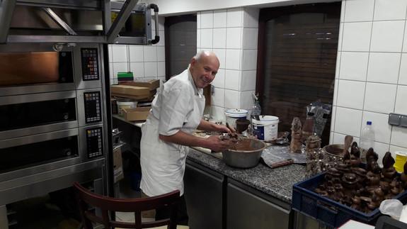 Fabrication des chocolats