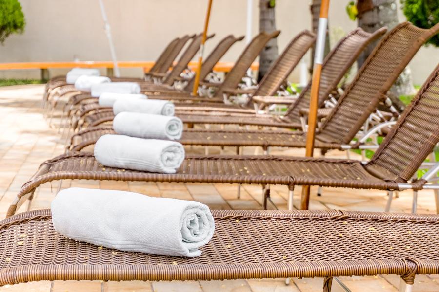 Cadeiras de Piscina Hotel Vila Verde
