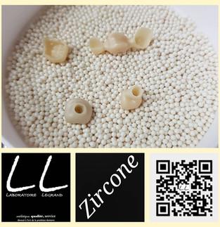 Full zircone, bridge céramo-zircone, et couronnes transvissées en préparation
