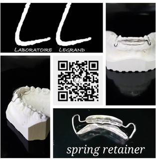 Spring retainer