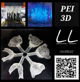 Portes Empreintes Individuels en impression 3D