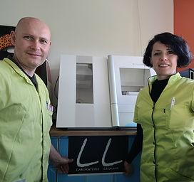 Gilles et Carole LEGRAND gérants de sarl