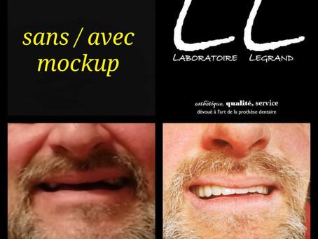 Mockup : sans / avec