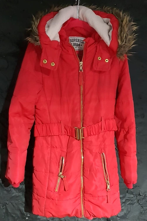 Red Winter Coat - 7-8 yrs