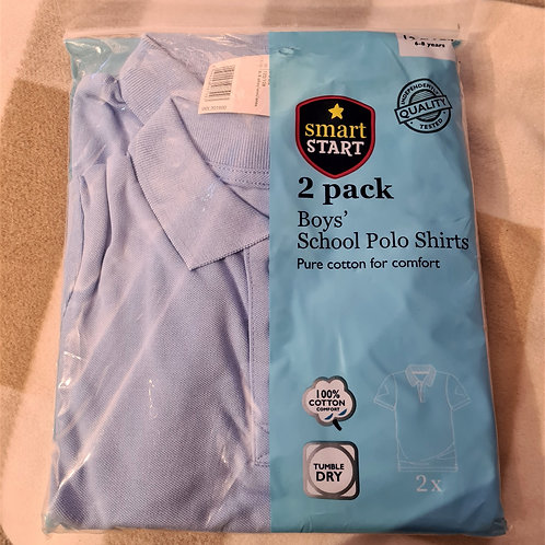 New Boys Polo Shirts - 6-8 yrs