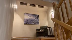 Domowe biuro na klatce schodowej?