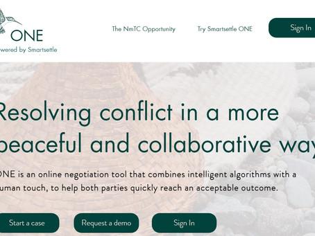 Negotiating online with Smartsettle ONE