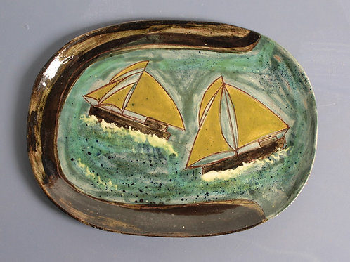 Sailing by the Shore Platter