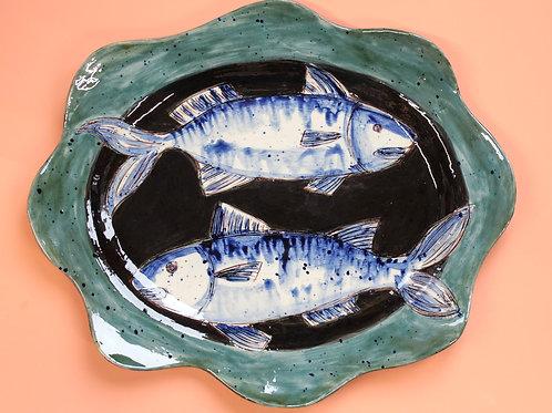 Two Mackerel Platter
