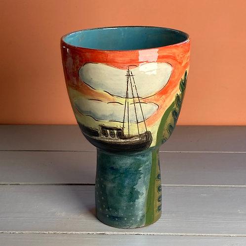 Coming Home Pedestal Bowl