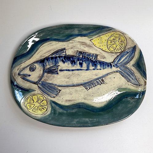 Fish and Lemon Platter
