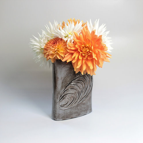 Platinum Shell Vase