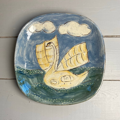 Swan of The Exe Platter
