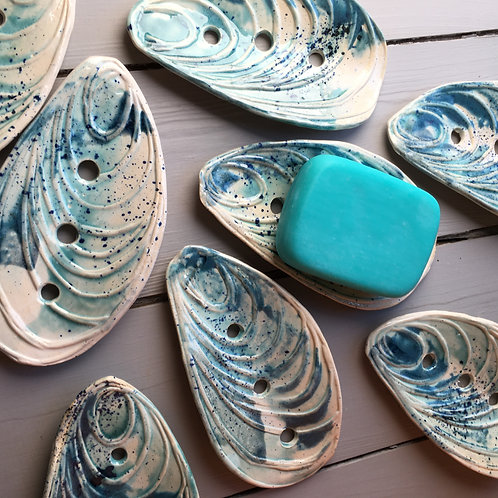 Mussel Shell Soap Dish