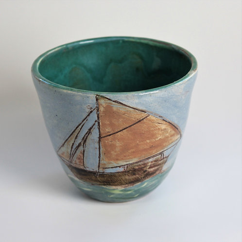 Sail and Shore Drinking Vessel