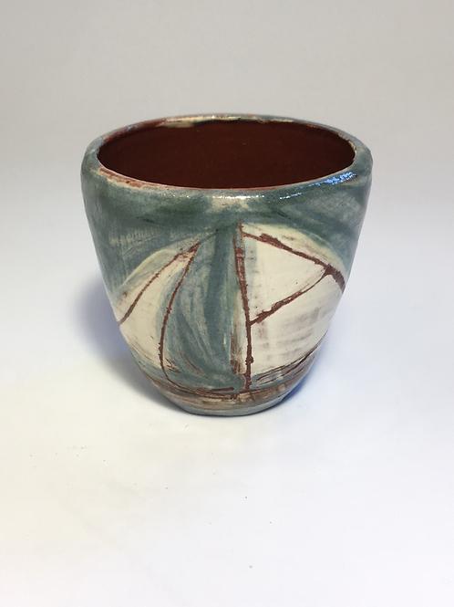 Sailing boat egg cup