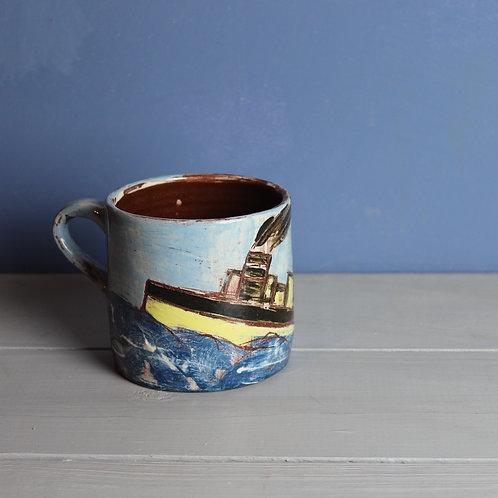 Stormy Steamer Mug