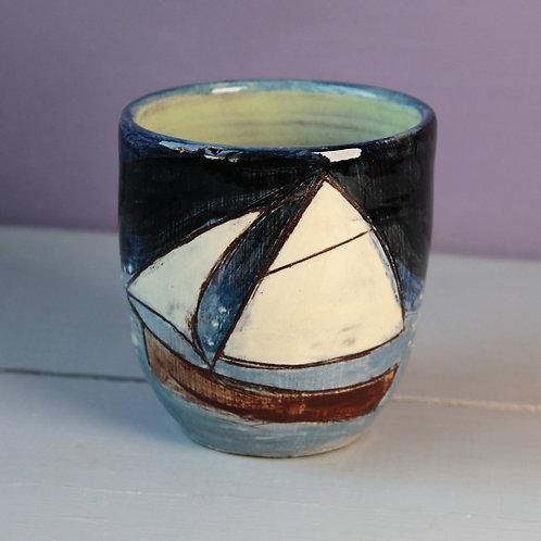 Night Sailing Drinking Vessel