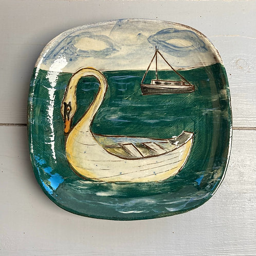 Cygnet Small Square Plate