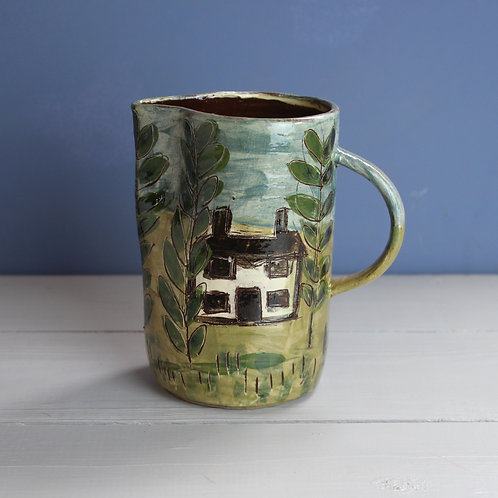 House and Trees Jug