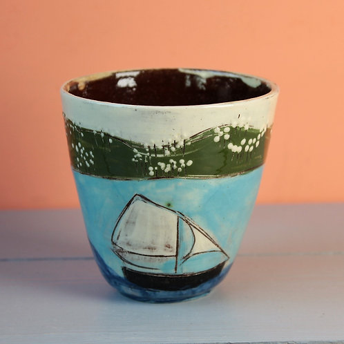 Sailing By Drinking Vessel