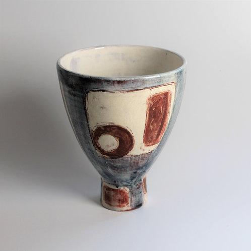 Modernist Pedestal Bowl