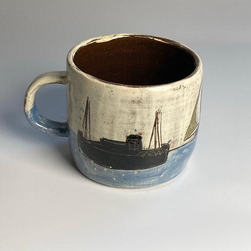 Sail and Ship Mug