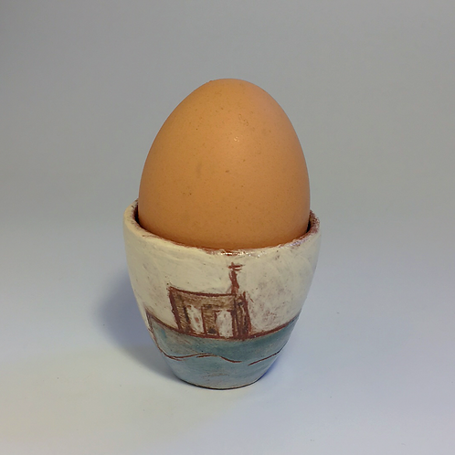 Fishing Boat Egg Cup