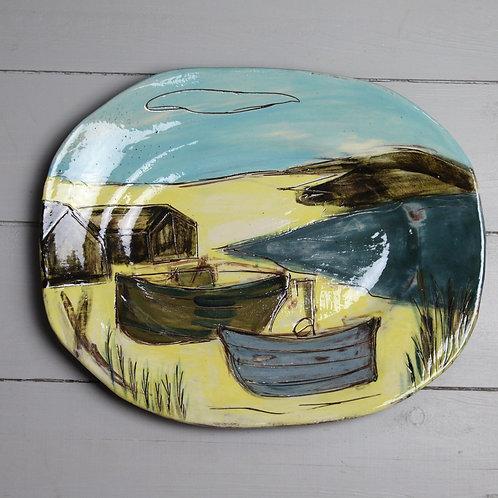 Fishing Boats Platter