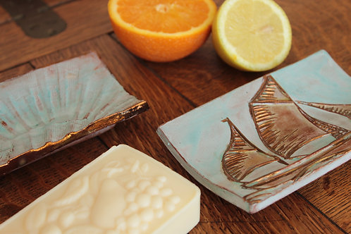 Ship or Shell Soap Dish